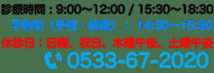 0533-67-2020
